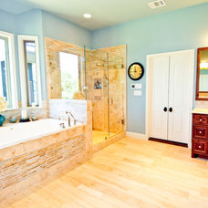 Traditional Bathroom by New Creations Custom Kitchen and Bath Remodeling