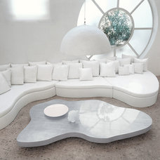 Contemporary Ottomans And Cubes by Cyrus Company US