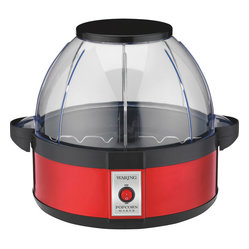 Waring Pro - Waring Pro 20-Cup Professional Popcorn Maker - Pop til you drop! You'll enjoy more popcorn (up to 20 cups) quicker and keep it fresh, hot and crunchy longer, thanks to its halogen heater and steam release vents.
