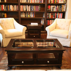 Contemporary  by Hardwood Designs