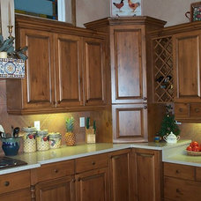 Rustic Kitchen Cabinetry by Tradewind Designs, Inc.