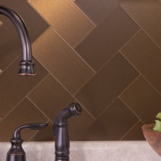 contemporary tile by BacksplashIdeas.com