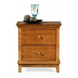 """American Drew 181-420M Drawer Night Stand - Maple Sterling Pointe - Drawer Night Stand - Maple - American Drew Sterling Pointe Collection 181-420MFeatures:2 DrawersThis Price Includes:Drawer Night Stand - MapleItem:Weight:Dimensions:Drawer Night Stand - Maple66 lbs26"""" W X 17"""" D X 28"""" HManufacturer's Materials:Maple and Hardwood SolidsMaple & Poplar Veneers & Simulated Wood Components"""