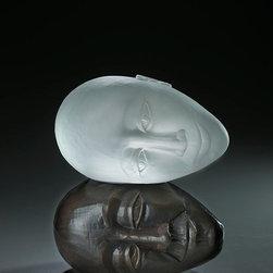 Art glass sculpture-CONSPIRATORS -