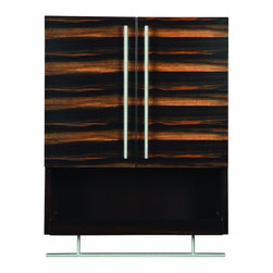 "DecoLav - Decolav 5261-EES Mila Wall Mounted Cabinet in Ebony Espresso - Decolav 5261-EES Mila Wall Mounted Cabinet in Ebony EspressoDECOLAV's Mila Collection is enhanced with exotic veneer, it is sure to be a great focal point of ambiance for your bathroom. The Mila 22""Wx9""Dx26""H Wall Mounted Cabinet has stainless steel hardware and towel bar. Available in 2 finishes and works seamlessly with multiple design configurations.Decolav 5261-EES Mila Wall Mounted Cabinet in Ebony Espresso, Features:&#149 Part of the Mila Bath Furniture Collection"