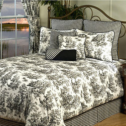 Plymouth Queen 9-piece Luxury Bedding Set -