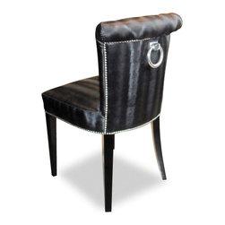 CLUB COLLECTION 2014. Francesco chair - Francesco Chair. Blue cobalt fabric upholstered.