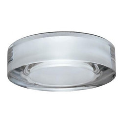 """Fabbian - Fabbian Lei recessed lamp - F43, F44, F45, F46 (LED, circular) - The circular Lei recessed lamp ( F43, F44, F45, F46 ) from Fabbian was designed by Roberto Pamio and Associates and made in Italy. The circular Lei recessed lamp is made for indoor installation with 24% lead crystal diffuser available in crystal clear or polished stainless steel in a stainless steel metal structure. This product is also UL Listed.   Products description: The circular Lei recessed lamp ( F43, F44, F45, F46 ) from Fabbian was designed by Roberto Pamio and Associates and made in Italy. The circular Lei recessed lamp is made for indoor installation with 24% lead crystal diffuser available in crystal clear or polished stainless steel in a stainless steel metal structure. This product is also UL Listed. Details:                         Manufacturer:                         Fabbian                                         Designer:                         Roberto Pamio and Associates                                         Made  in:            Italy                            Dimensions:                         Height: 2.5"""" (6.3cm) X Width: 4.5"""" (11.5cm)                                                     Light bulb:                                      3 X 1W White LED or 3 X 1W RBG LED                                         Material                         Metal, crystal"""