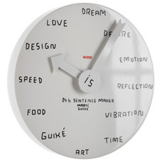 Eclectic Clocks by Switch Modern