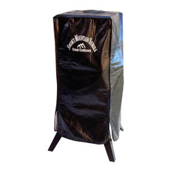 Landmann - Smoker Cover For 3815GLA Fits Models with Large Side Handle - -Durable, weather-resistant PVC with lining material