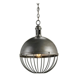 Currey & Company Verne Pendant - Currey and Company Verne Pendant