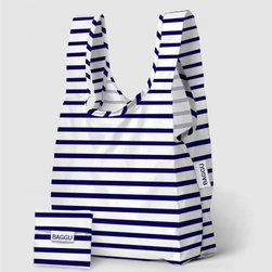 BAGGU - Baggu bags are irresistible and so practical. I love this elegant nautical print, and the bag's practical, small size will make it a favorite for carrying anything and everything.
