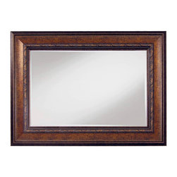 "Framed Goods - Wall Mirror 20X30 - Antique Copper - Mirror Details: 20""x30""x3/16"" Thick - 1"" beveled"