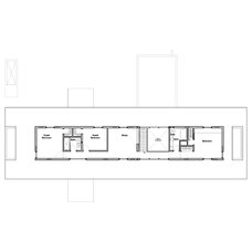 Modern Floor Plan by Kariouk Associates