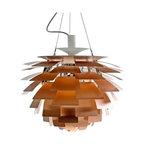 Louis Poulsen PH Artichoke pendant Lamp Copper by Poul Henningsen -