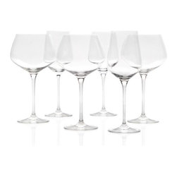 Z Gallerie - Essential Stemware - Sets of 4 - These simplistic wine glasses with bold formations are essential for serving your guests only the finest. Sold separately in sets of four.