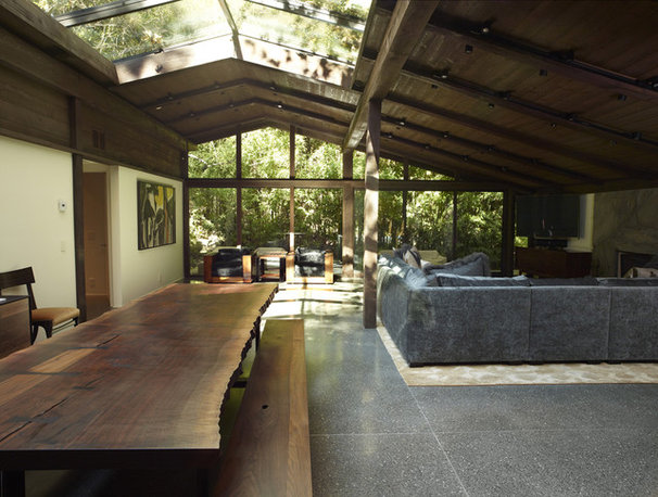 Exhibit honors cliff may 39 s california ranch style for California home and design