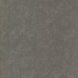 Brewster Home Fashions - Rhizome Charcoal Leather Texture Wallpaper Bolt - This graphite grey  Wallpaper brings a rich color to walls enhanced by a gentle radiance. The beaded and nuanced texture has an abstract likeness to faux leather.