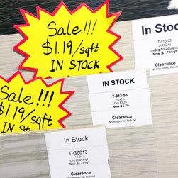 On Sale Items -