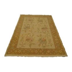 1800GetARug - Hand Woven Floral Design Flat Weave Soft Colors Soumak Sh7104 - About Flat Weave