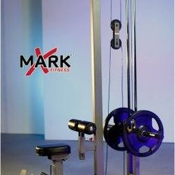 XMark Commercial Lat Pulldown and Low Row Cable Machine - A well-balanced blend of exercise options are all yours with the XMark Commercial Lat Pulldown and Low Row Cable Machine. Use the included bars for lat pulldowns, low rows, bicep curls, tricep presses, and shrugs. The frame is built tough out of 11-gauge steel and finished in a scratch-resistant powder coat finish. The design is suitable for both home and commercial settings, and XMark machine attachments are sold separately. About XMark Fitness With decades of experience designing and producing fitness equipment for home and commercial use, X truly MARKs the spot with this fine Louisiana company! XMark's mission is to give folks undeniable results, outstanding prices, and great customer service and like any great fitness regimen, it's been a formula for success. Today, XMark Fitness leads the way in bars, benches, freeweights, MMA accessories and more due to their attention to detail and focus on quality construction and ergonomic designs that are comfortable to use. XMark Fitness' drive to redefine excellence has led to innovative products that fit any budget without sacrificing quality, exceeding the industry standard wherever possible to give you the best workout for your dollar! Best of all, their dedication to helpful customer service is unmatched so if you have a question regarding your home gym or your workout, there's a professional standing by to give you the answers you need to improve your lifestyle today.