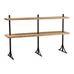 Silk Plants Direct - Silk Plants Direct Metal and Wood Shelf (Pack of 1) - Pack of 1. Silk Plants Direct specializes in manufacturing, design and supply of the most life-like, premium quality artificial plants, trees, flowers, arrangements, topiaries and containers for home, office and commercial use. Our Metal and Wood Shelf includes the following: