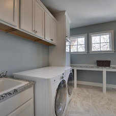 Contemporary Laundry Room by Habitat Architecture