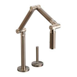KOHLER - KOHLER K-6227-C15-BV Karbon Articulating Single-Control Kitchen Faucet - KOHLER K-6227-C15-BV Karbon Articulating Single-Control Kitchen Faucet with Bronze Tube