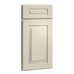 CliqStudios.com - Cambridge Off-White Linen Paint Shaker Kitchen Cabinet Sample - Cambridge's ...
