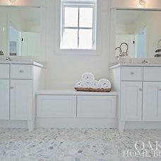 Beach Style Bathroom by Oakley Home Builders