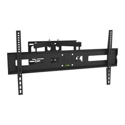 """Sonax - Sonax Full Motion Flat Panel Wall Mount for 32"""" - 55"""" TV's - Sonax - TV Mounts - E0312MP - Enjoy your TV from every angle with this full motion flat panel wall mount by Sonax. Customize your TV to the perfect viewing position with the adjustable distance settings of 12.5cm – 51.5 cm from the wall. Designed to accommodate most 32""""-55"""" TV's up to 110lbs this full motion mount provides a +45 º swivel and tilt options of -7º/+15 º up and down. Complete with a built in leveling system for easy DIY installation and VESA mounting patterns up to 200x200 400x200 600x400 800x400. For a polished look pair this wall mount with your favorite Sonax TV or component stand.Features:"""