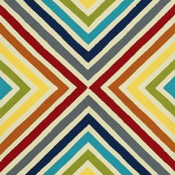 """Loloi - Indoor/Outdoor Palm Springs 3'6""""x5'6"""" Rectangle Multi Area Rug - The Palm Springs area rug Collection offers an affordable assortment of Indoor/Outdoor stylings. Palm Springs features a blend of natural Multi color. Handmade of 100% Polypropylene the Palm Springs Collection is an intriguing compliment to any decor."""