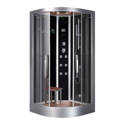 Ariel - Ariel Platinum DZ963F8 Steam Shower 39.4x39.4x89 - These fully loaded steam showers include massage jets, ceiling & handheld showerheads, chromotherapy, aromatherapy and built in radios to help maximize the therapeutic experience