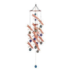 GSC - Wind Chime Copper & Gem Dragonfly Garden Decoration Hanging Decor - This gorgeous Wind Chime Copper & Gem Dragonfly Garden Decoration Hanging Decor has the finest details and highest quality you will find anywhere! Wind Chime Copper & Gem Dragonfly Garden Decoration Hanging Decor is truly remarkable.