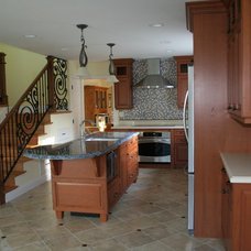 Eclectic Kitchen by May Construction, Inc.