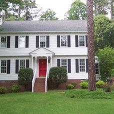 Traditional Exterior by Richmond home staging and redesign inc