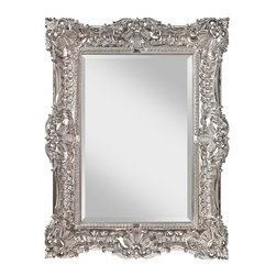 Murray Feiss - Murray Feiss Traditional Rectangular Mirror X-PE0911RM - Murray Feiss Traditional Rectangular Mirror X-PE0911RM