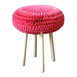 Tabouret Papa - This may be the most fun a stool can have ever. I love love love this piece in pink, but other colors are available as well.