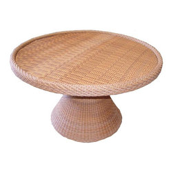 Westminster Teak Furniture - Melody Table (Rattan) - Melody table is one of our rattan table that will compliment both your indoor or outdoor space with its beautiful natural look.