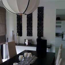 Eclectic Dining Room by Karen Maximo-Fernando