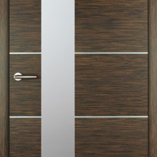 Modern Front Doors by Impact Precious Wood, Inc.