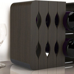 Mirage Expandable Wine Rack - Space saving and modern, this wine rack is incredibly well designed. I'd love one for my kitchen.