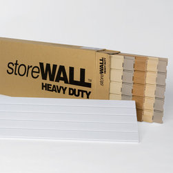 "Storewall - 4' Mixed Carton - Perfect for setting up a showroom, giving in-home demonstrations or cutting custom samples. Each 4' mixed case includes 1 each of the following: HeavyDuty WALL - Panel size: 4' x 15"" Panel colors: Weathered Grey, Dover White, Brite White, Rustic Cedar, Global Pine, StandardDuty WALL - Panel size: 4' x 15"" Panel color: Weathered Grey"