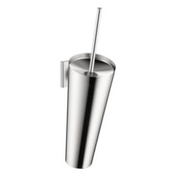 Axor - Hansgrohe - Axor Starck Organic Toilet Brush - 42735000 - Chrome - Axor Starck Organic: Harmony of Head and Heart.  Philippe Starck brings forth a new collection birthing a unique design.