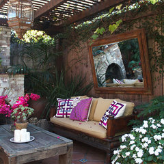 eclectic patio by Primary Reps