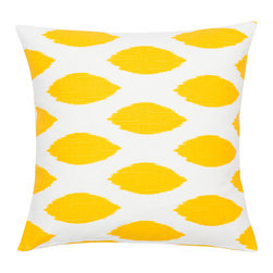 Look Here Jane, LLC - Chipper Yellow Pillow Cover - PILLOW COVER
