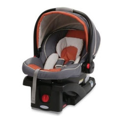 Graco - Graco SnugRide Click Connect 35 Infant Car Seat in Rust - The Graco SnugRide Click Connect is incredibly light for easy carrying, top-rated for safety by leading consumer boards, and allows convenient one-step attachment to Graco Click Connect strollers.
