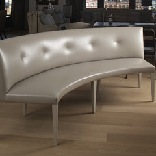Contemporary Dining Benches by interieurs by Francine Gardner