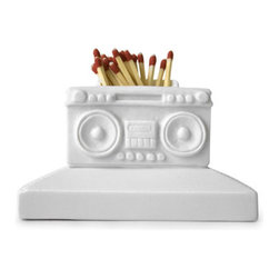 Jonathan Adler Boom Box Match Strike - This little accessory is just plain funny and a little weird, which is why I like it. Keep it close to your favorite home fragrances for convenience and a giggle.