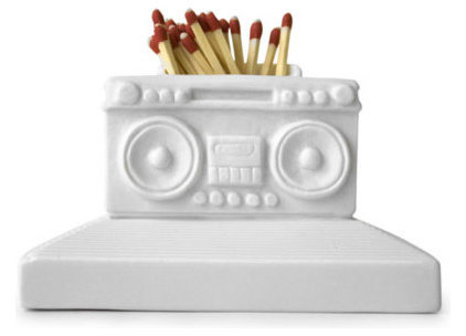 Eclectic Fireplace Accessories by Jonathan Adler
